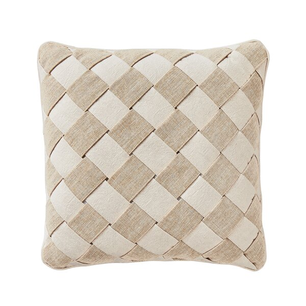Camille 100% Cotton Throw Pillow by Croscill Home Fashions